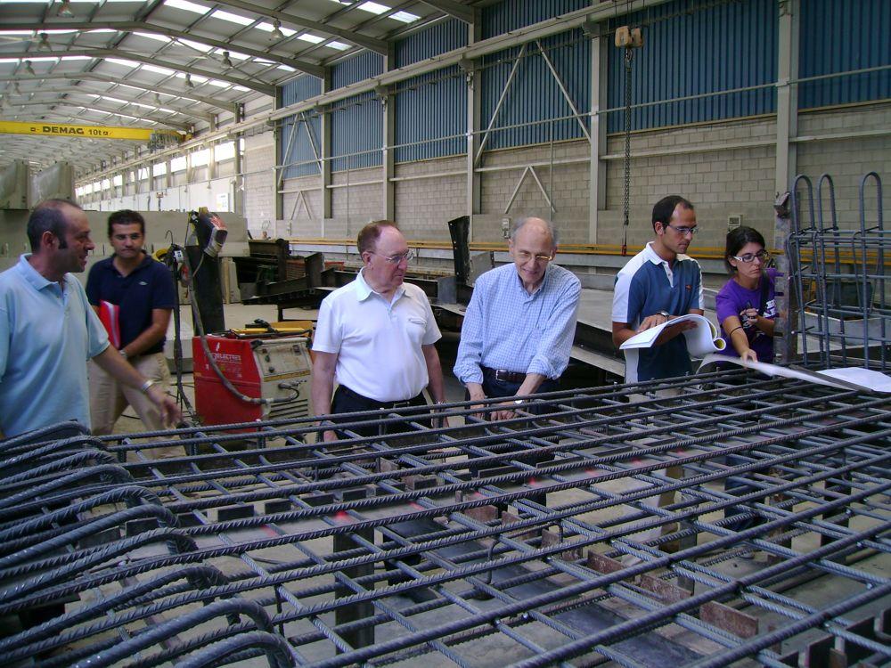 Juan José Arenas visitó las instalaciones de Rocacero