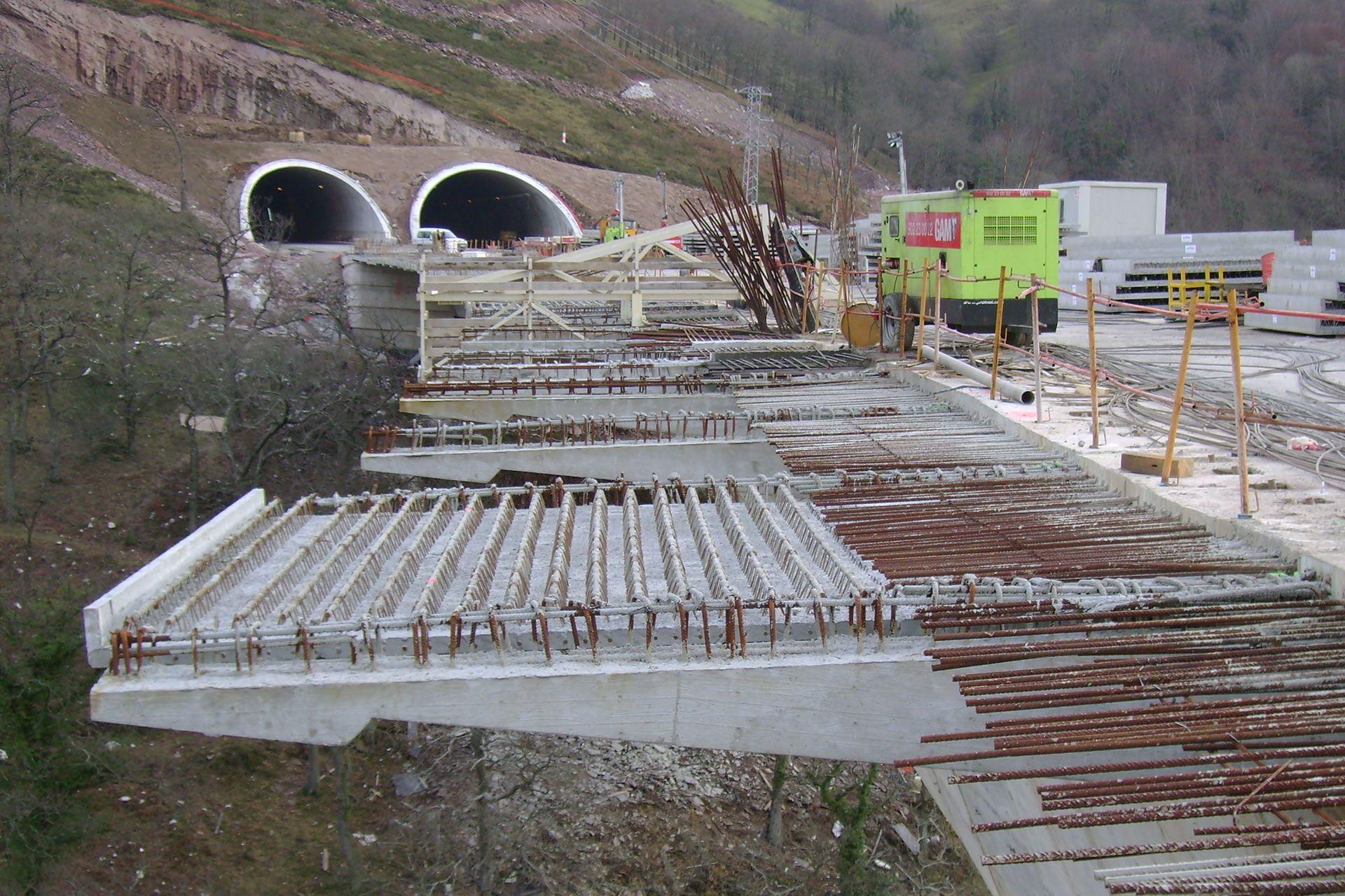 hormigon prefabricado para contruccion de viaductos montabliz rocacero en cantabria