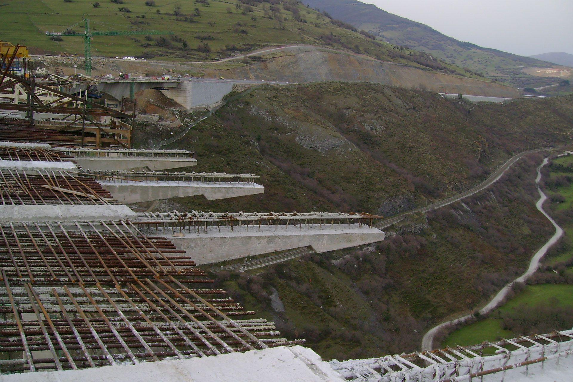 viaducto de montabliz puente de hormigon armado rocacero