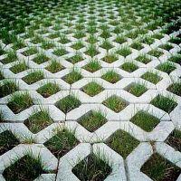 pavimentacion con ecotrama r2